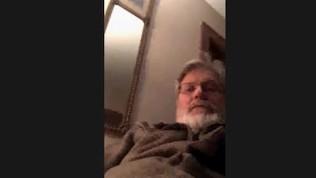 Mark Blackstone masturbates on webcam in front of a girl