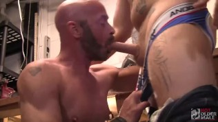Nick Wood Fucked and Bred by Tattooed Daddy