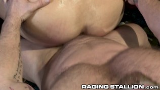 RagingStallion – Busting A Nut At Work Increases Productivity