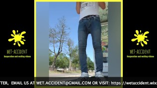 Sagger boy wets himself at the bus stop TRAILER