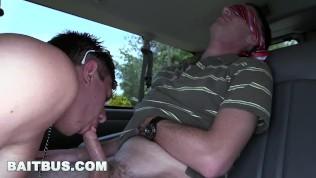BAITBUS – Cute Guy Gets His Juicy Man Ass Banged By Creepy Straight Bait